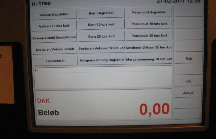 Entresystem & billetsystem. Adgangskontrol & indgangskontrol. Til svømmehal, idrætshal, stadion og sportsarena.
